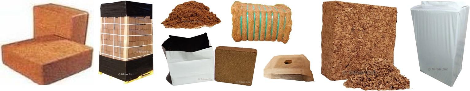Diton | Premium Coconut Coir Wholesale Supplier in USA